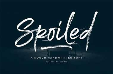 Spoiled Font Free Download